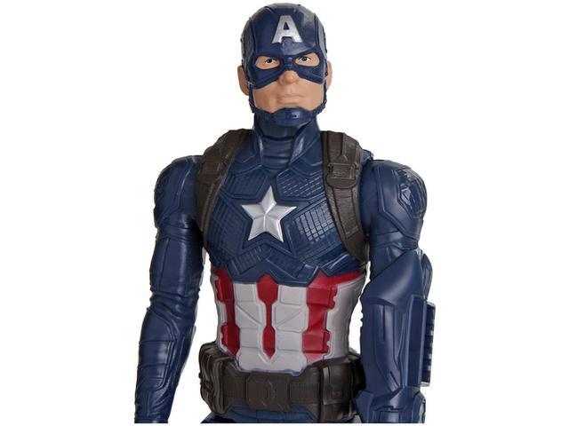Imagem de Boneco Capitão América Marvel Titan Hero 2.0