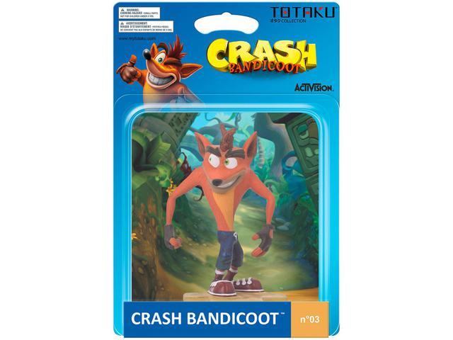 Imagem de Boneco Colecionável Crash Bandicoot 10,5cm