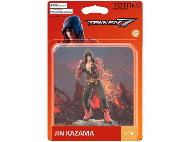 Imagem de Boneco Colecionável Tekken Jim Kazama 10,5cm