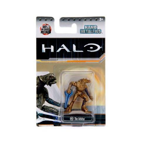 Imagem de Boneco Colecionável The Arbiter Ms12 Nano Metalfigs Halo