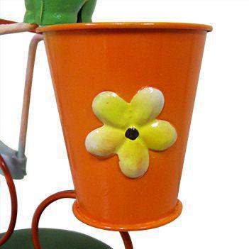 Imagem de Boneco com Bicicleta Para Enfeite e Decoraçao Jardim e Flores (BON-M-13)