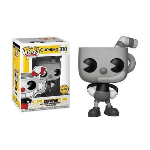 Imagem de Boneco Cuphead 310 Cuphead (Edição Limitada Chase) - Funko Pop!