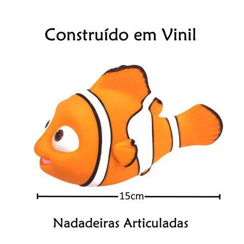 Imagem de Boneco de Vinil do Nemo com Nadadeira Articulada