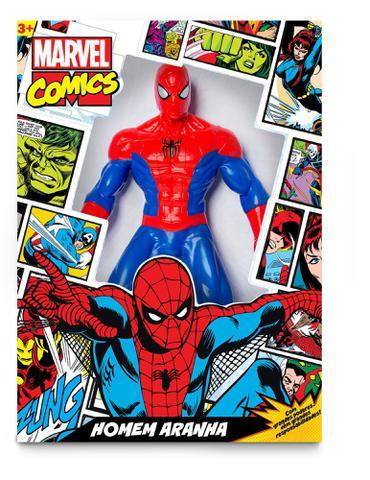 Imagem de Boneco de vinil Gigante Homem Aranha 50 cm Comics