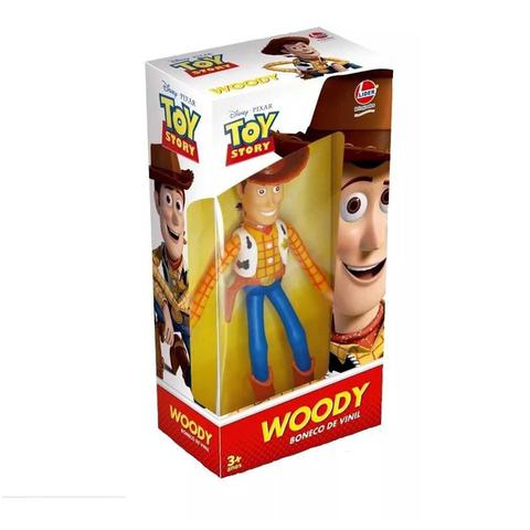 Imagem de Boneco De Vinil Toy Store Woody Articulado Líder Brinquedos