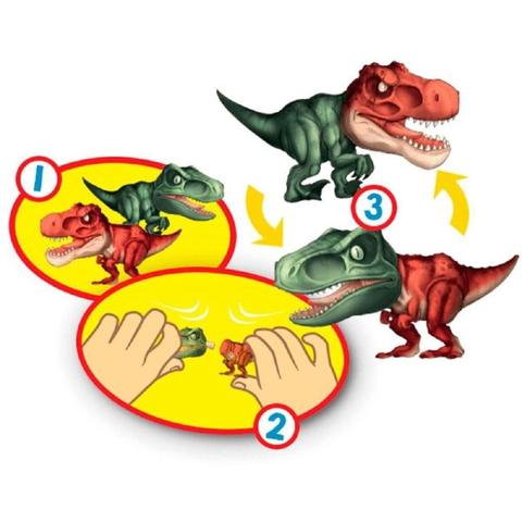 Imagem de Boneco Dinossauro Morphox Dino Explosion Surpresa F00198 Fun