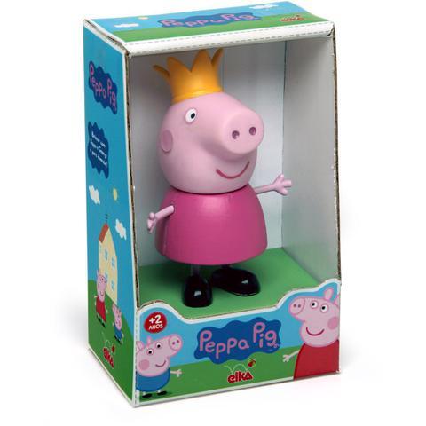 Imagem de Boneco E Personagem Peppa Pig Princesa Vinil 15Cm.  Elka