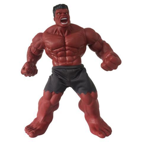 Imagem de Boneco Gigante - 50 Cm - Disney - Marvel - Revolution - Hulk - Vermelho - Mimo