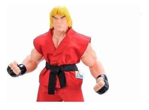 Imagem de Boneco Grande Capcom Street Fighter Ken 48cm Vinil