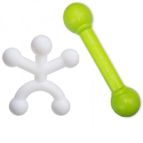Imagem de Boneco Halteres Brinquedos Morder Cachorro Nylon Buddy Toys