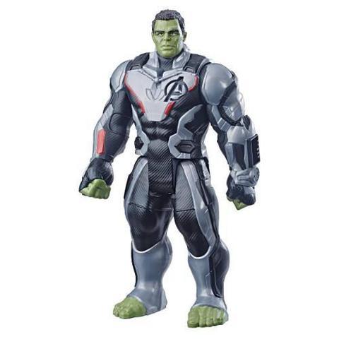 Imagem de Boneco Hulk 30cm Vingadores 4 - Ultimato Com Entrada para Dispositovo Power FX - E3304 Hasbro