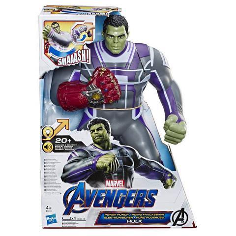 Imagem de Boneco Hulk Eletrônico Marvel Deluxe - Hasbro E3313