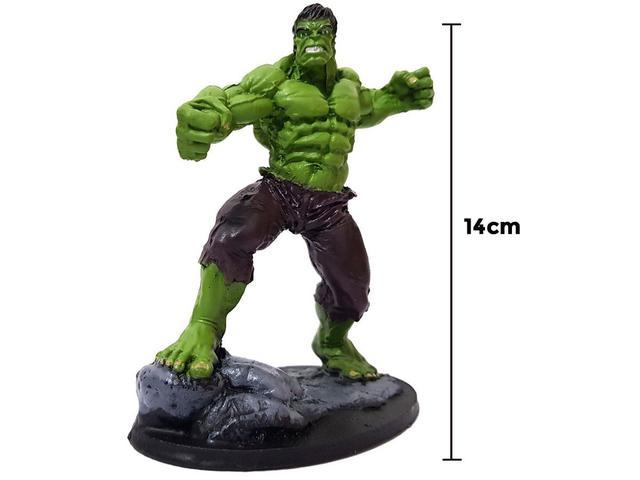 Imagem de Boneco Hulk Estátua 14cm Action Figure