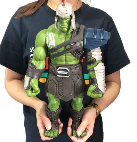 Imagem de Boneco Hulk Gladiador Thor Ragnarok 35cm Pvc Vingadores