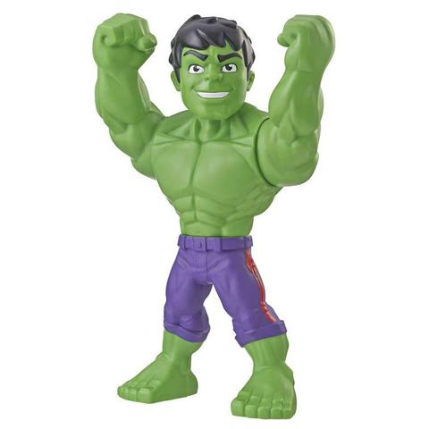 Imagem de Boneco Hulk Super Hero Adventures Playskool - Hasbro E4149