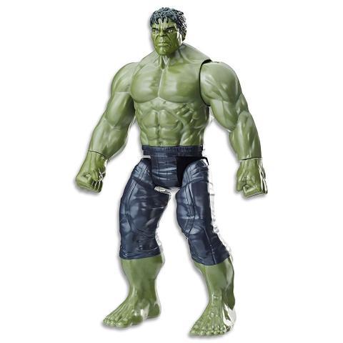 Imagem de Boneco Hulk Titan 30 Cm Guerra Infinita E0571 Hasbro