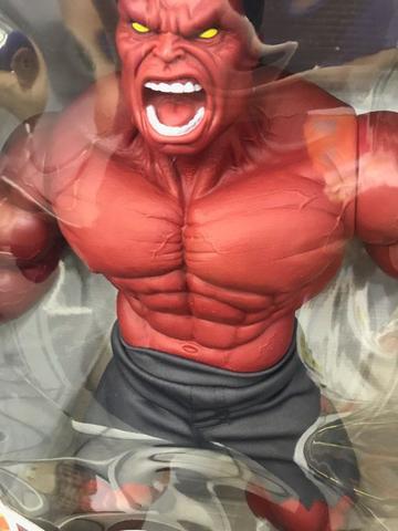 Imagem de Boneco hulk  vermelho boneco mimo