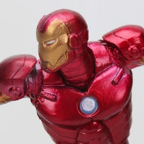 Imagem de Boneco Iron man Homem de Ferro Series Action Figure Colecão 15cm