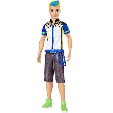Imagem de Boneco Ken Barbie Em Um Mundo De Video Game Mattel Dtw09