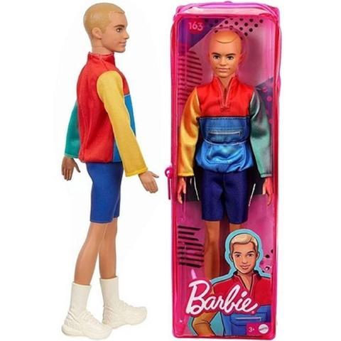 Imagem de Boneco Ken - Barbie Fashionista - GRB88 - Modelo 163 Mattel