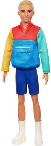 Imagem de Boneco Ken Barbie Fashionista Roupa Colorida 163 Mattel