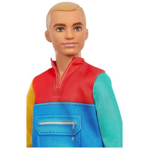 Imagem de Boneco Ken Barbie Fashionistas Lançamento 2021