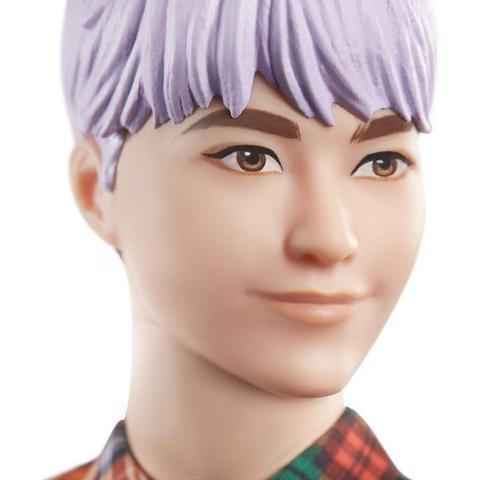 Imagem de Boneco Ken Cabelo Roxo 154 - Barbie Fashionistas  - Mattel