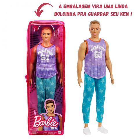 Imagem de Boneco KEN Fashionista Namorado da Barbie Articulado Colecionavel