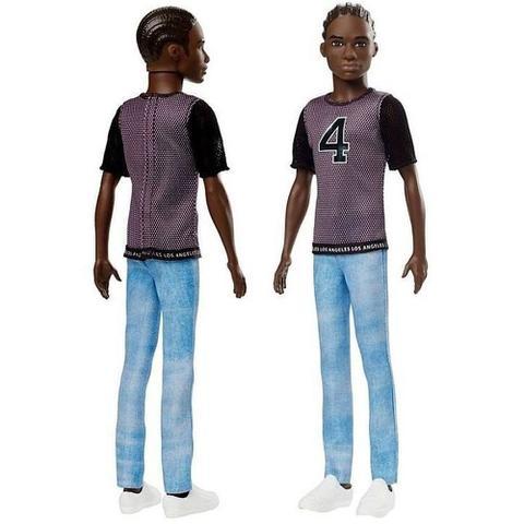 Imagem de Boneco Ken Fashionista Negro - Número 130 - Namorado Da Boneca Barbie - Mattel