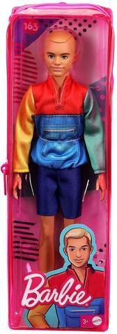 Imagem de Boneco Ken Fashionistas Corredor Loiro Namorado Barbie GRB88