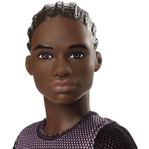 Imagem de Boneco Ken Fashionistas Negro Gdv13 - Mattel (14873)
