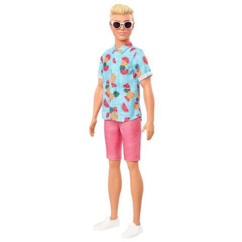 Imagem de Boneco Ken Loiro Namorado da Barbie Fashionistas  Mattel