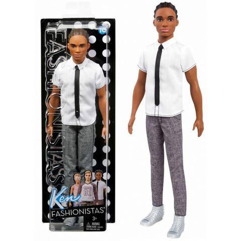Imagem de Boneco Ken Negro Cabelo Dread Namorado Da Barbie - Mattel