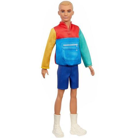 Imagem de Boneco Ken Roupa Colorida 163 - Barbie Fashionistas - Nova embalagem no Estojo Plástico - Mattel