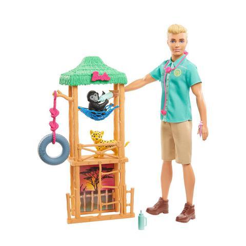 Imagem de Boneco Ken Veterinário de Safari - Mattel