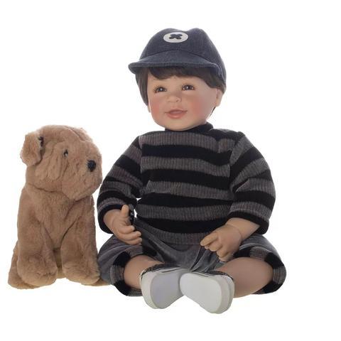 Imagem de Boneco Laura Doll Dudu Bebê Reborn - Shiny Toys