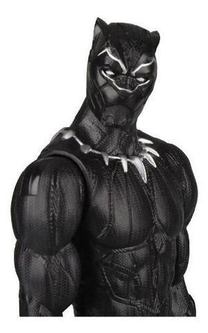 Imagem de Boneco Marvel 30cm Pantera Negra Power Fx - Hasbro