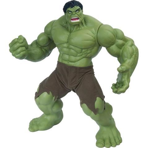 Imagem de Boneco Marvel Hulk Verde Premium 457 - Mimo