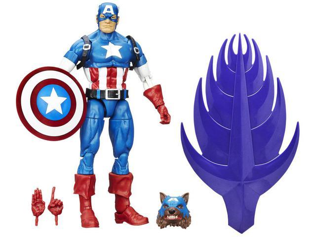 Imagem de Boneco Marvel Legends Captain America