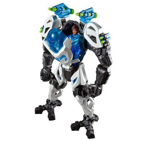 Boneco Max Steel - Max e Armadura Gigante - Mattel - - Outros ...
