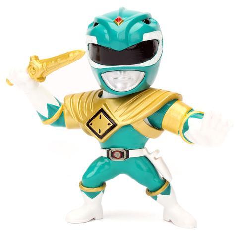 Imagem de Boneco Metal DTC 10 cm Power Ranger - Green Ranger
