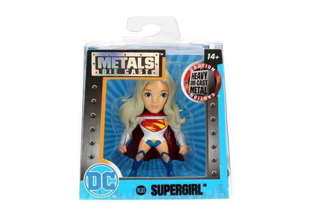 Imagem de Boneco Metal DTC 6 Cm DC Girls - Supergirl Branca