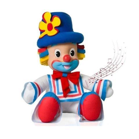 Imagem de Boneco musical dupla patati patatá palhaço patati