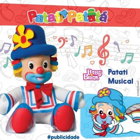 Imagem de Boneco Patati Musical - Patati Patatá Baby Brink Ref 1825