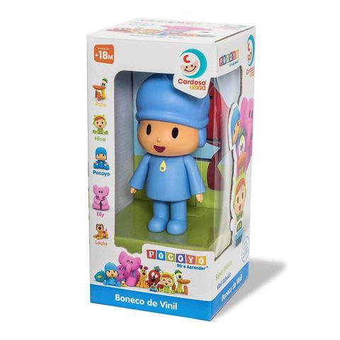 Imagem de Boneco Pocoyo em Vinil 13 Cm Cardoso toys