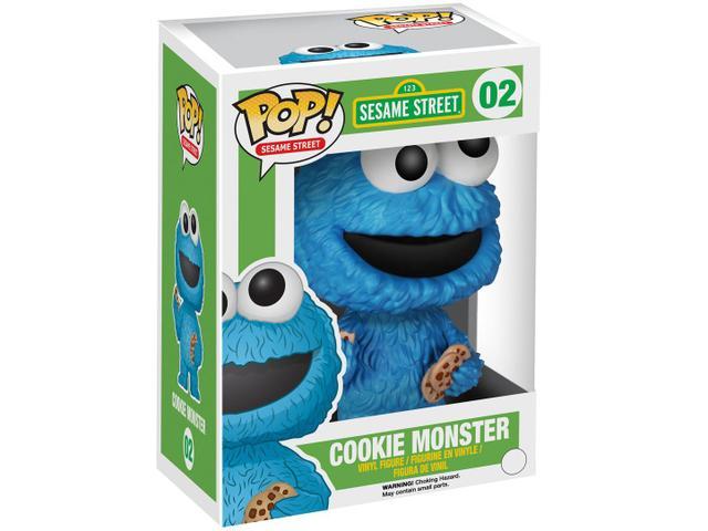 Imagem de Boneco Pop - Sesame Street Cookie Monster