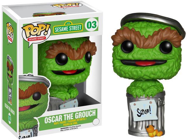 Imagem de Boneco Pop - Sesame Street Oscar The Grouch