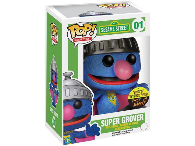 Imagem de Boneco Pop - Sesame Street Super Grover