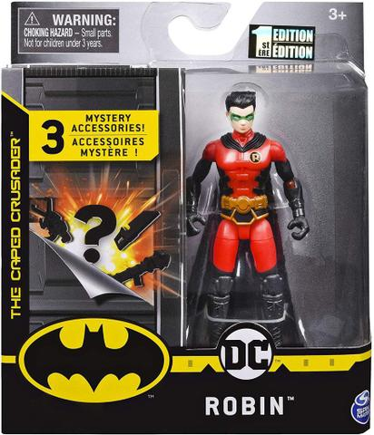 Imagem de Boneco Robin Red Costume  - DC 3 Acessorios Misteriosos - Spin Master