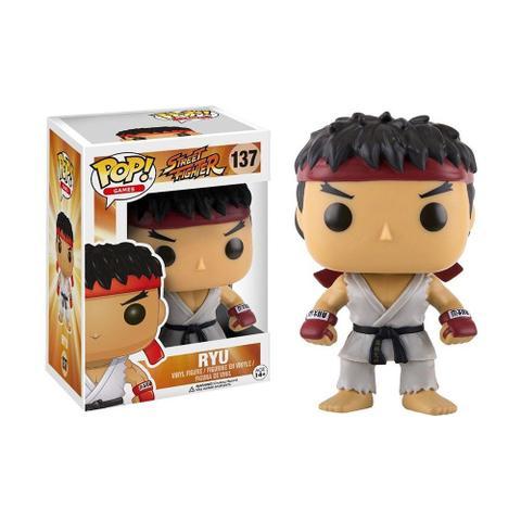 Imagem de Boneco Ryu 137 Street Fighter - Funko Pop
